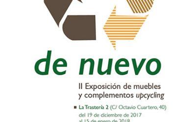 II Exposición De nuevo: Muebles y complementos upcyling.