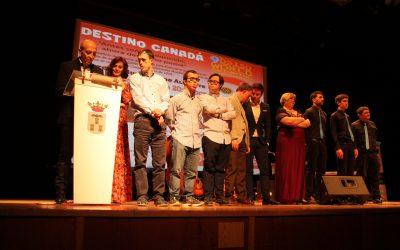 """R que R participó en la Gala Benéfica """"Destino Canadá""""."""