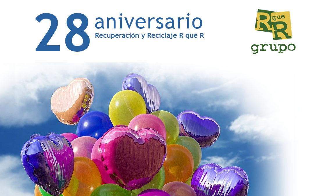 28 aniversario R que R Recuperación y Reciclaje